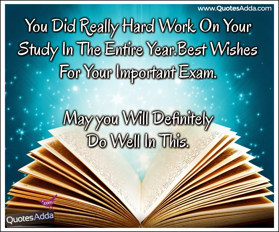 Important Exam Wishes Quotes And Messages Here Is A Exam Quotes And