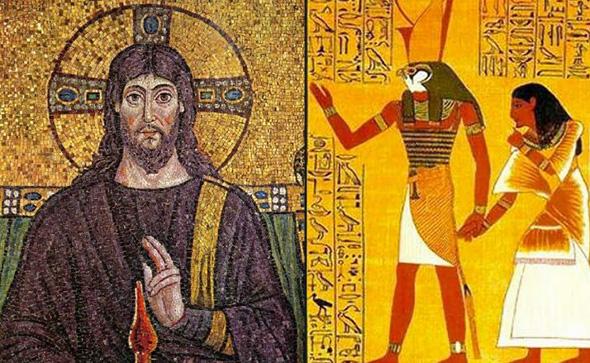 jesucristo y horus