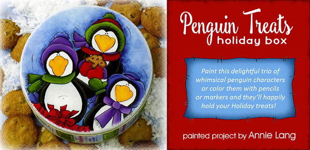 You can download this DIY Penguin Treats whimsical character scene project designed by Annie Lang for FREE at Annie Things Possible!