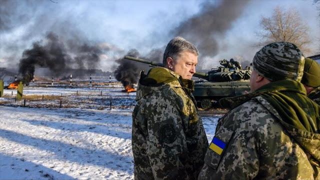 """Ucrania pide a Alemania más ayuda militar ante la """"amenaza rusa"""""""