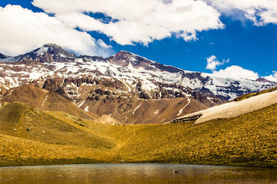Cerro Marmolejo Laguna de los Patos