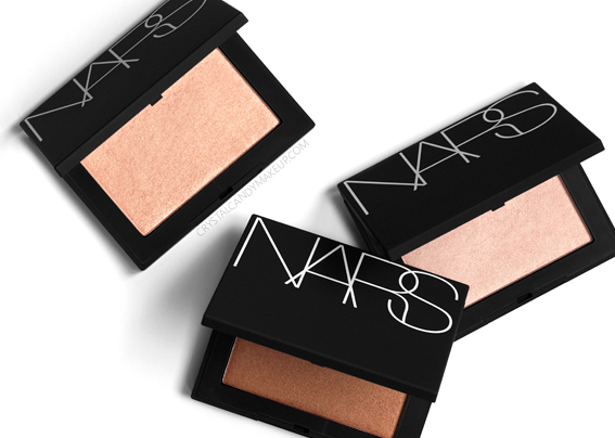 NARS Highlighting Powders Light Sculpting Review Swatches Capri Fort De France St Barths