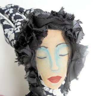 Inner Power Wisdom Keeper Spirit Doll Whimsy Series by Jeanne Fry