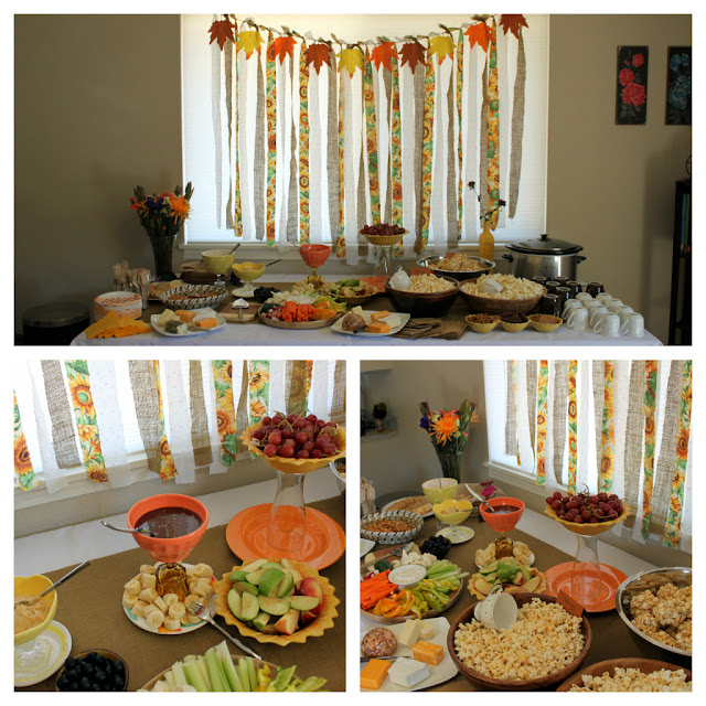 Fall Baby Shower Decorations