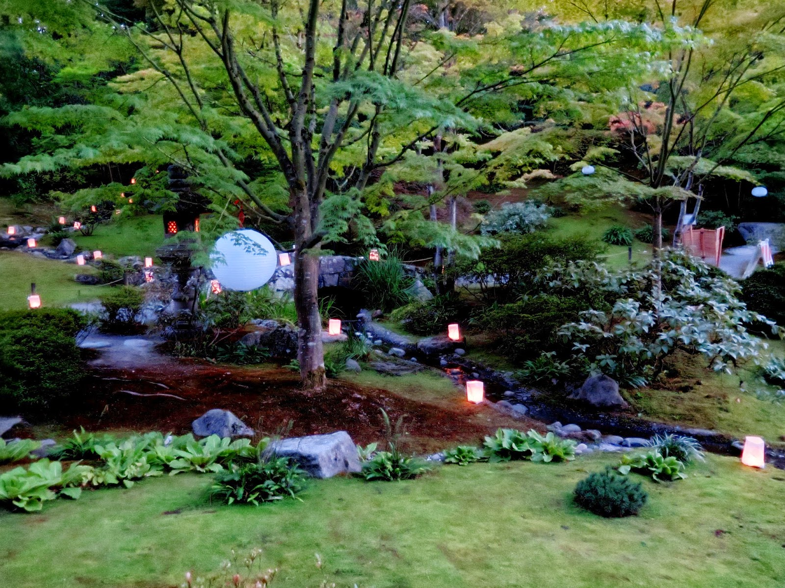 Seattle Japanese Garden: Seattle Japanese Garden Community Blog: Moon Viewing 2014