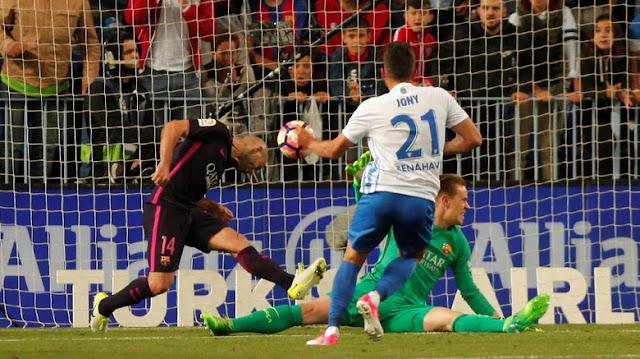 Hasil Liga Spanyol Jornada 31