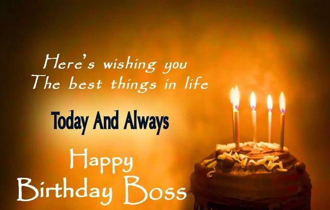 Happy Birthday Messages And Sms For Your Boss Quote Wishes