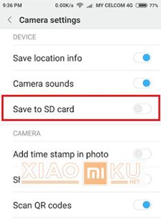 pindahkan file foto ke memori eksternal
