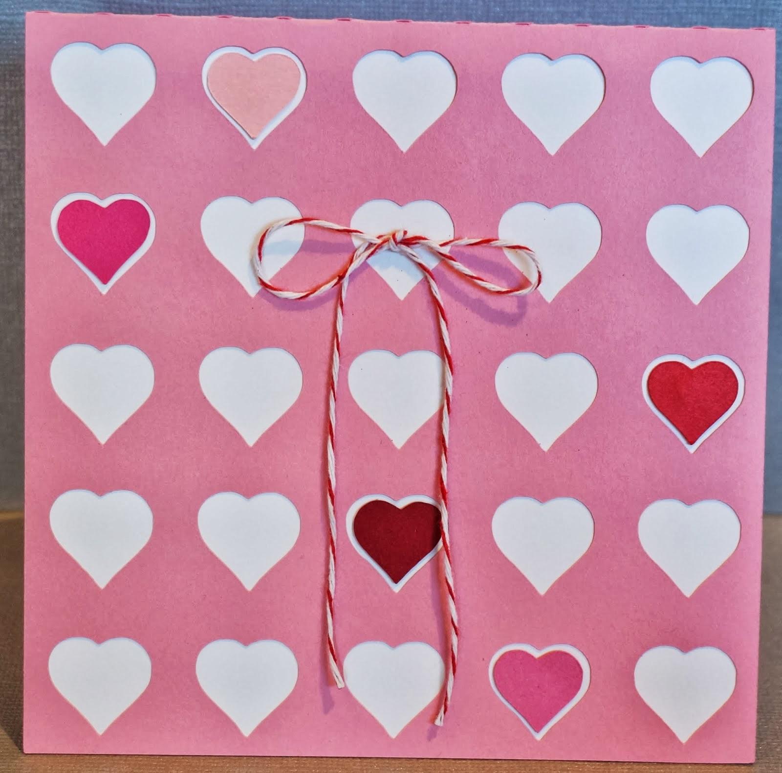 Valentine's Day, Silhouette, card, Silhouette tutorial