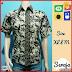 BTK097 Baju Hem Seroja Batik Modis Murah BMGShop