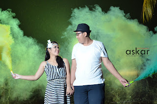 smooke bomb, konsep prewedding, jasa foto murah