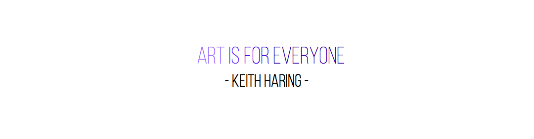 Keith Haring quote