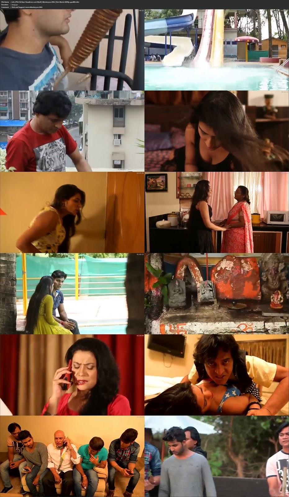(18+) Phir Ek Baar Beaabroo 2016 Hindi Hot Movie HDRip 490MB at movies500.bid