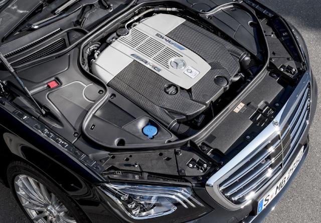 2018 Mercedes-AMG S 65 Engine