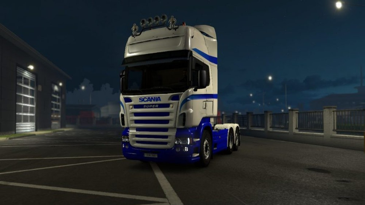 Scania RJL Blu Skin