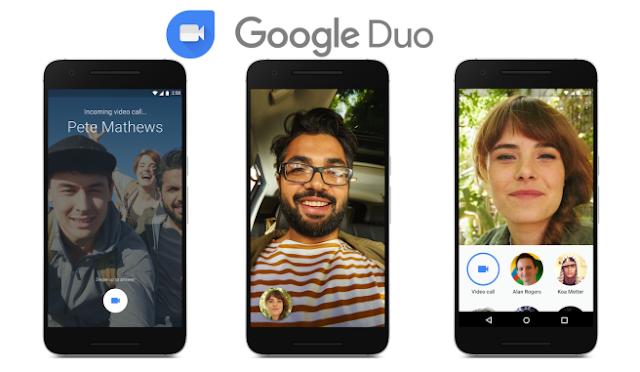 جوجل تخطط لجلب ميزة مكالمات الفيديو الجماعية إلى Duo