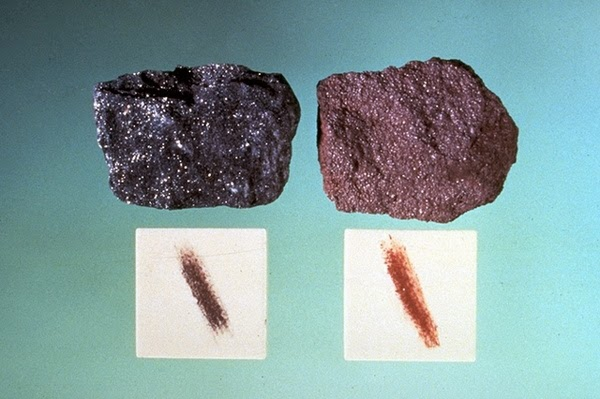 The Streak of Minerals