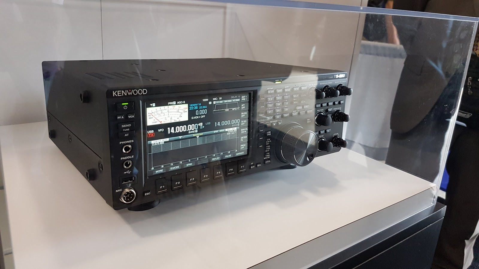 Delboy's Radio Blog: NEW Kenwood TS-890S