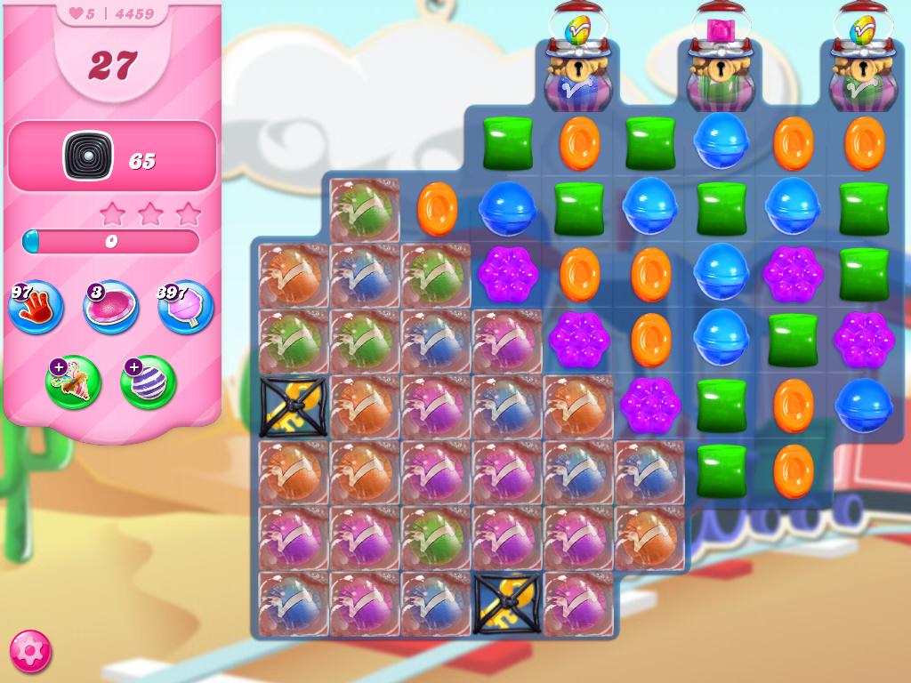 Candy Crush Saga level 4459