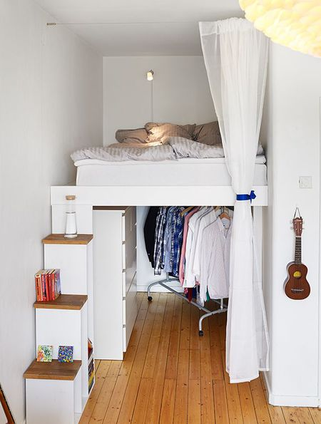 Desain Kamar Minimalis 3x3 : desain, kamar, minimalis, Desain, Kamar, Tidur, Ukuran, Kecil, Bergaya, Minimalis, Modern, Desainrumahnya.com