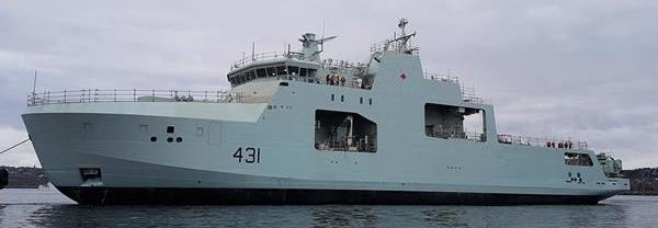 Канада спустила на воду другий корабель типу AOPS
