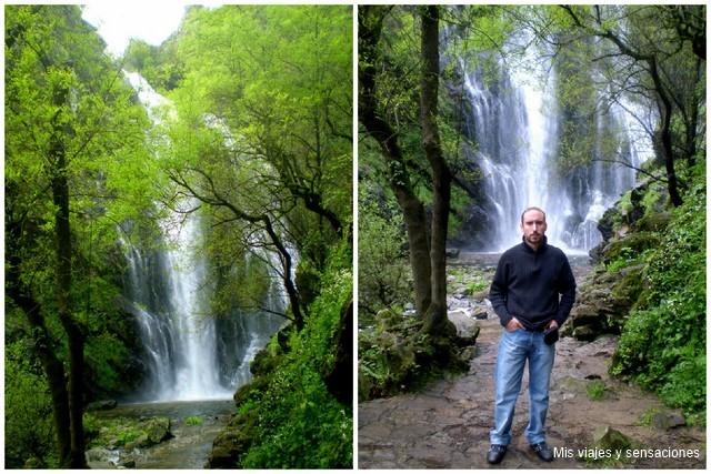 Cascada de Toxa, comarca del Deza, Galicia