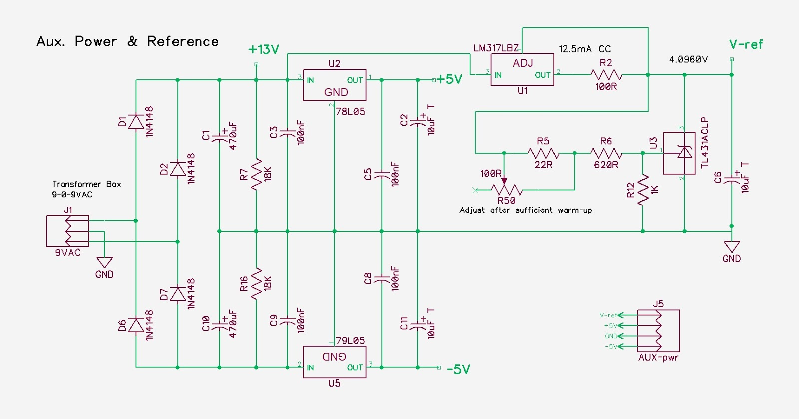 Symmetrical Regulated Power Supply Schematic Circuits Pauls Diy Electronics Blog My New Design Project Part 3 There Is Really Nothing Special About This But Let Me Go Through The I Use A 9 0 9v Ac Transformer Salvaged Out Of Alarm Radio Long Time Ago