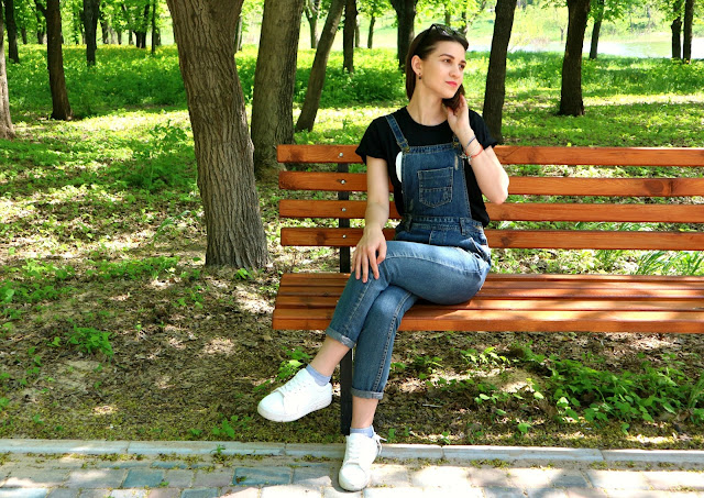 Zaful and Rosegal Haul Jeans Jumpsuit Outfit