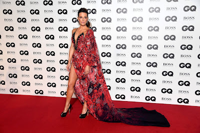 Kate Beckinsale - Style Sarong Dress at GQ Men of the Year Awards (2018)