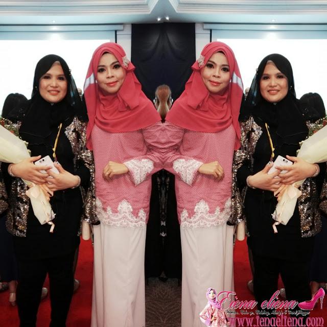 Cik iena bersama Puan Marianny Ismail selaku Maria Selenne Official
