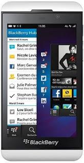 BlackBerry Z10 - White Specs and Price