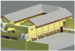 Pembangunan Asrama Putra.
