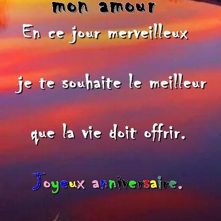 Message Damour Joyeux Anniversaire Messages Et Sms Damour