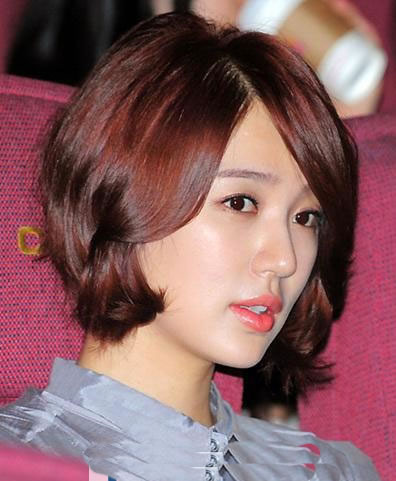 latest korean short hairstyles for cute girls 2013