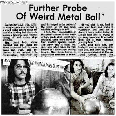 A misteriosa esfera da família Betz
