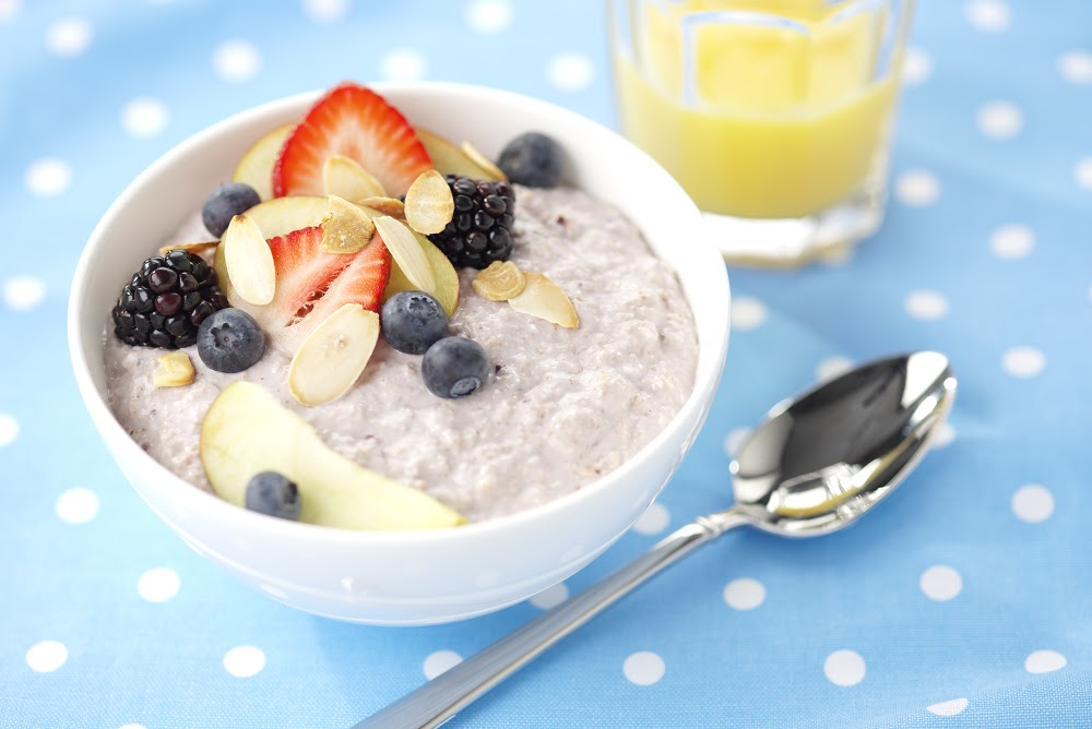 Blueberry Bircher: Jazz Up Breakfast