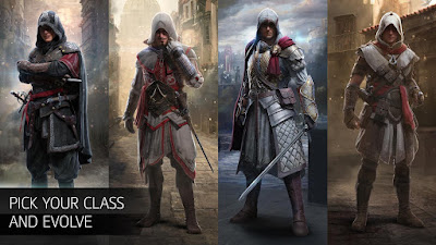 Tampilan Game Assassin's Creed Identity