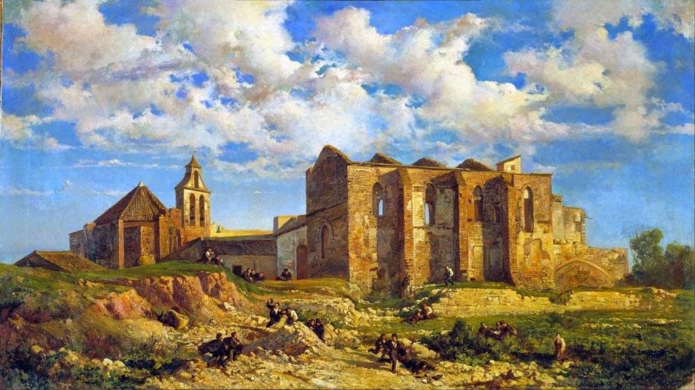 Ramón Martí Alsina, Paisajistas españoles, Paisajes de Ramón Martí Alsina, Pintor español, Pintores Catalanes, Pintores de Barcelona, Pintor Ramón Martí Alsina