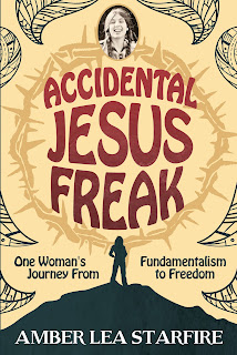 Interview with Amber Lea Starfire, author of Accidental Jesus Freak. Includes giveaway!