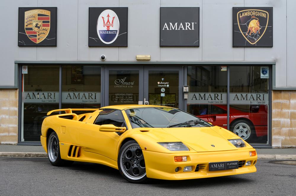 1999 lamborghini diablo vt roadster for sale