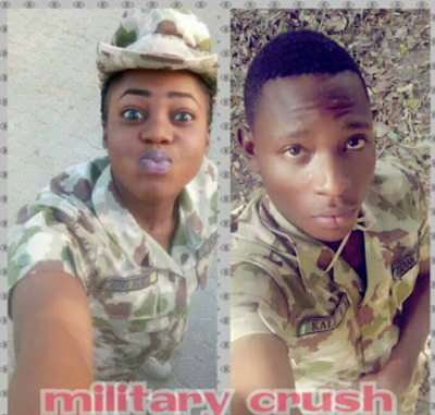 Nigerian Air Force personnel