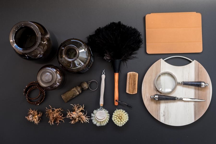 fim.works | Fotografie. Leben. Wohnen. | Fünf Minuten Collage für den Oktober in Braun