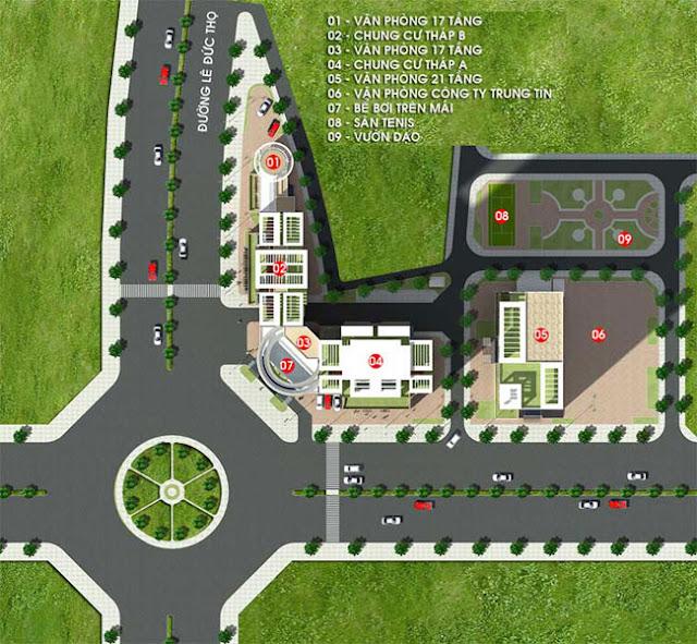 Chung Cư Sun Square 21 Lê Đức Thọ Mỹ Đình