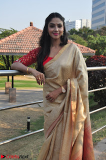 Angana Roy in Silk Saree at Teaching Tree Carnival .xyz 007.JPG