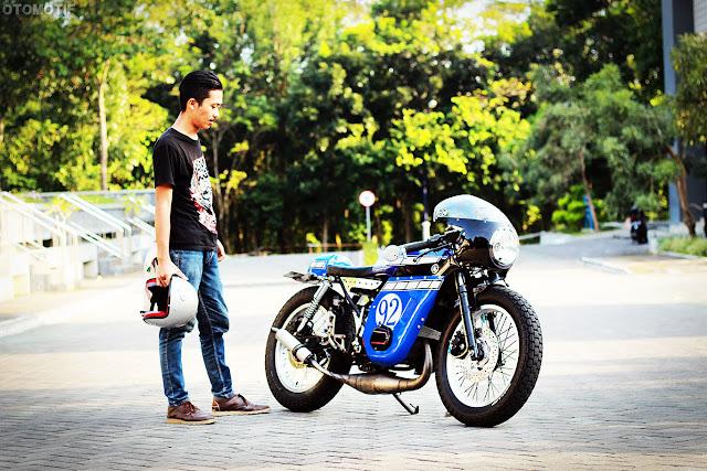 Teguh Setiawan's Yamaha RX-K 135 1