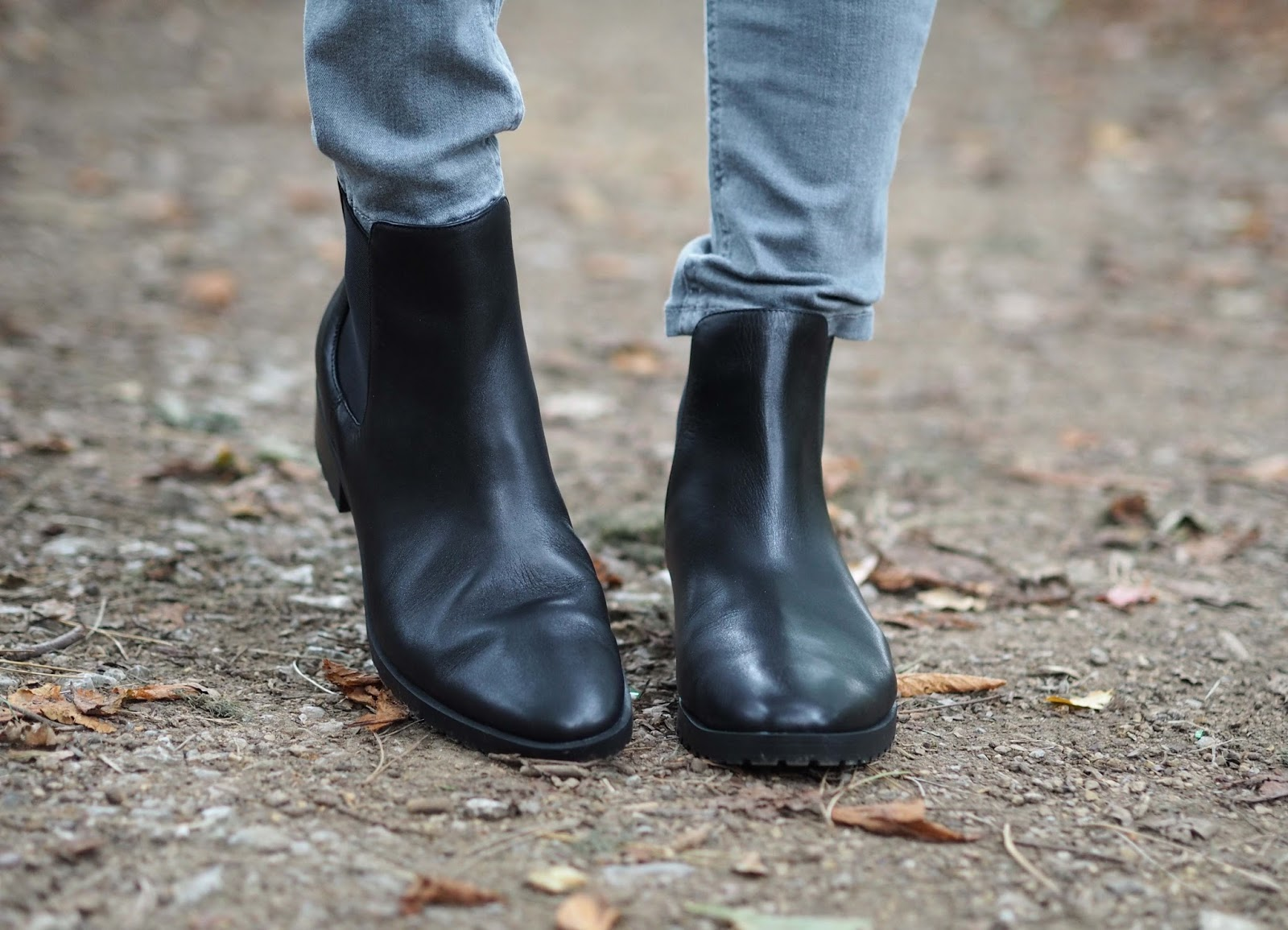 Marks and Spencer Black leather Chelsea Boots