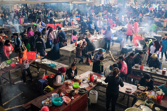 Radiant Spring Market, Ha Giang In The Early Days Of The New Year 11
