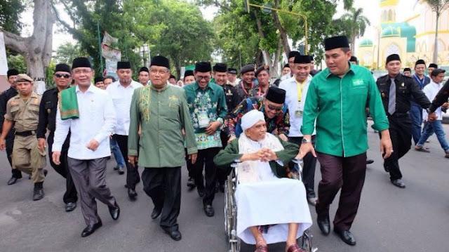 Ribuan Kyai Moderat Perwakilan 25 Ribu Ponpes Hadiri Munas dan Konbes NU di Lombok