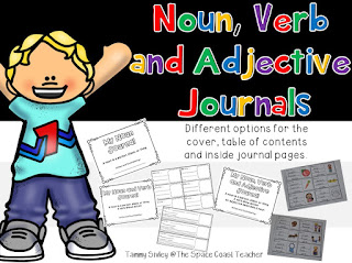 My Noun, Verb, and Adjective Journal