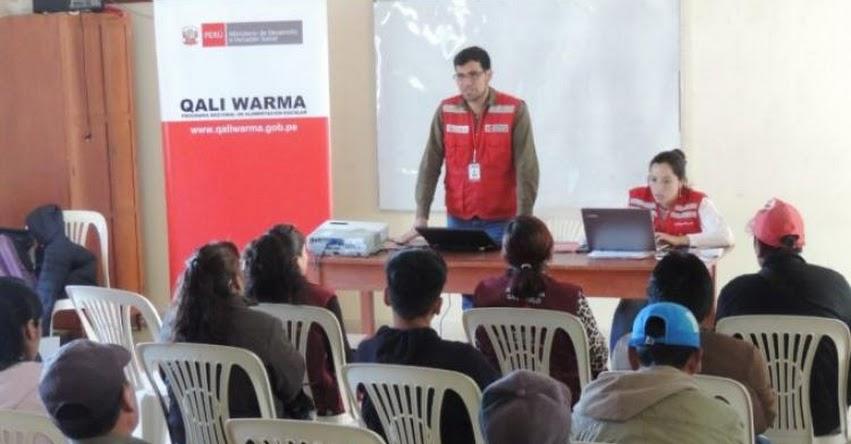 QALI WARMA: Programa social refuerza vigilancia social en Cajamarca - www.qaliwarma.gob.pe